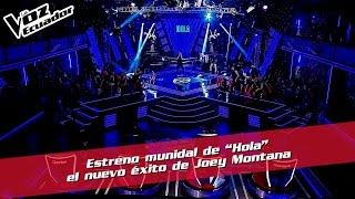 """Estreno mundial de """"Hola"""" el nuevo éxito de Joey Montana - La Voz Ecuador"""