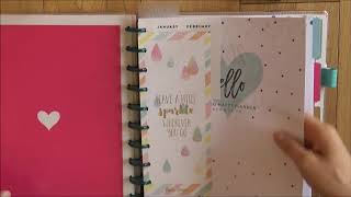 My thoughts on dated vs undated planners