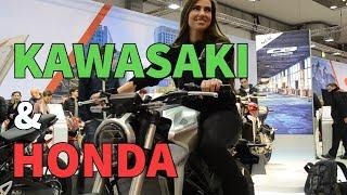 Salon de l'auto 2018 | Kawasaki et Honda
