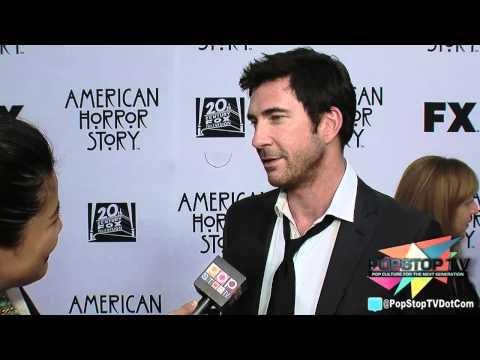 "Dylan McDermott ""Ben"" Talks ""American Horror Story"" Season 2"