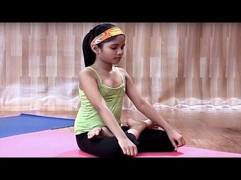 Padmasan | Yoga for Children in Tamil | Yoga For Kids Complete Fitness