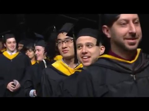 Johns Hopkins University Whiting School of Engineering Master's Diploma Ceremony 2016