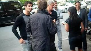 Arrivée de Yoann Gourcuff et Jerémy Toulalan au CFC , (24. 04. 2011)