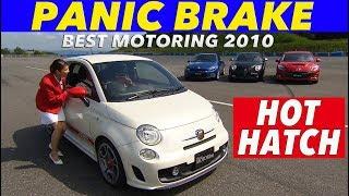 人気のホットハッチでパニックブレーキランキング【Best MOTORing】2010...