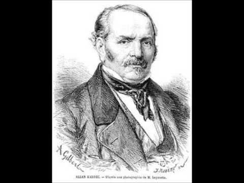 """Spiritisme: Biographie d'Allan KARDEC sur Europe 1 """"Au coeur de l'histoire"""""""