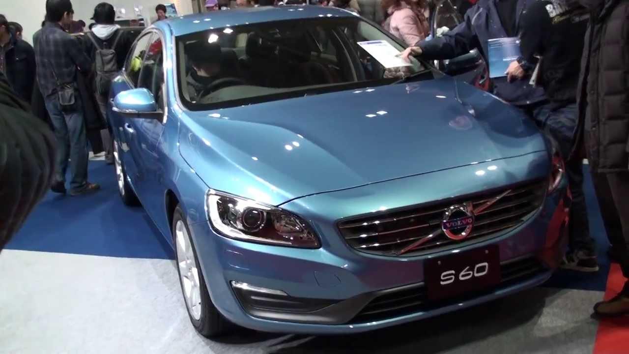(HD)Osaka Motor Show 2013-VOLVO S60 T4 SE(大阪モーターショー)