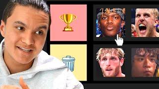 Ranking YouTube Boxers