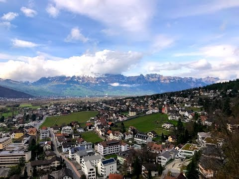 Vaduz Castle Liechtenstein 4K GoPro