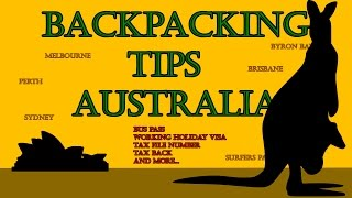 Backpacking Tips Australia - Guide