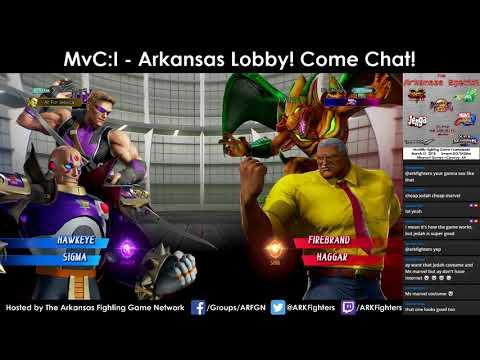 Arkansas Marvel vs. Capcom: Infinite Online Lobby (3/14/18)