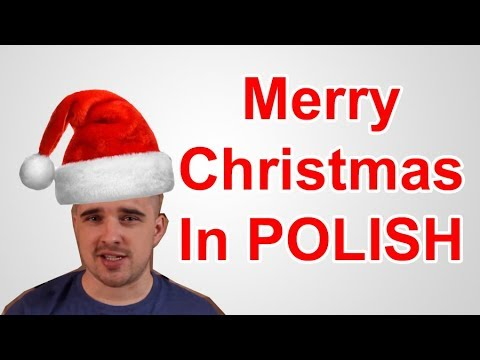 merry christmas in polish