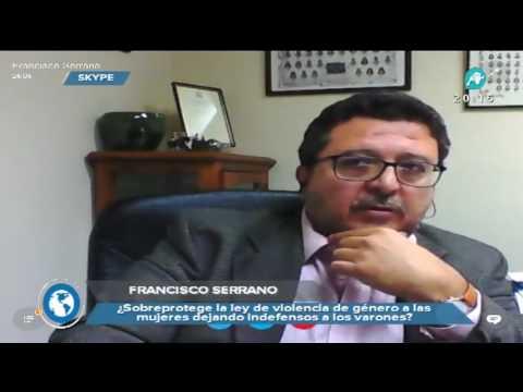 """Francisco Serrano: """"Muchos hombres se suicidan por una denuncia falsa de malos tratos"""""""