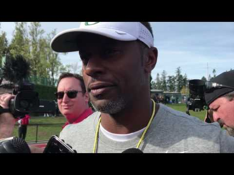 Willie Taggart evaluates Oregon's first spring football scrimmage