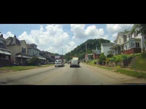 Driving around Portsmouth, Ohio