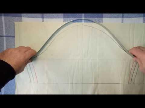 Как уменьшить окат рукава под пройму