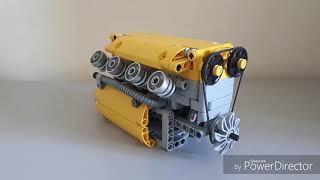 як зробити двигун з лего