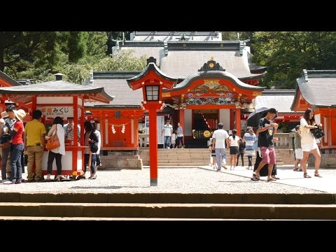 Shinto Shrine in Japan 4K (Ultra HD) - 霧島神宮/鹿児島