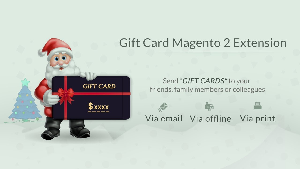 Gift Card Voucher Magento 2 Extension