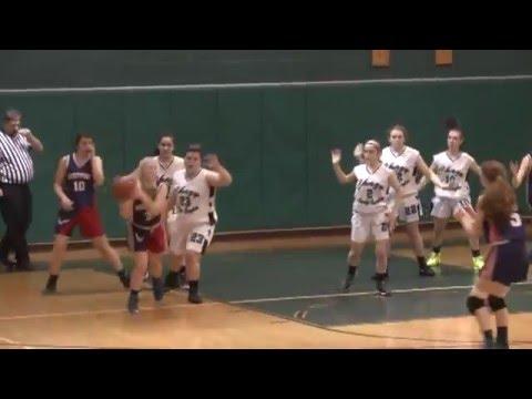 Chazy - Westport Girls  2-1-16