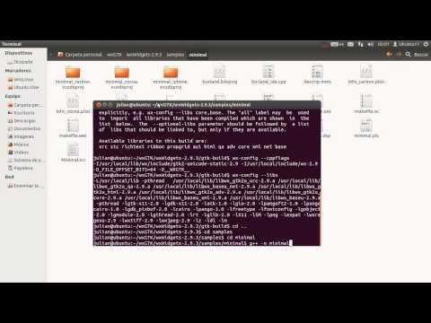 01c -- Compilar e instalar en Linux -- Curso - Tutorial de wxWidgets C++