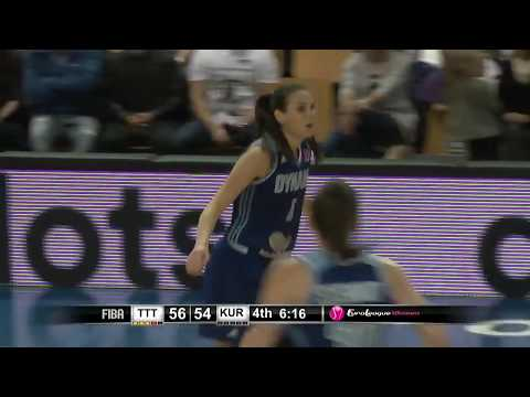 24.10.2018 Dynamo Kursk 3 pointers in TTT Riga vs Dynamo Kursk