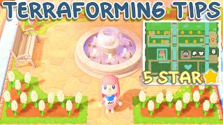TERRAFORMING GUIDE (Get a 5 Star Island) Animal Crossing New Horizons
