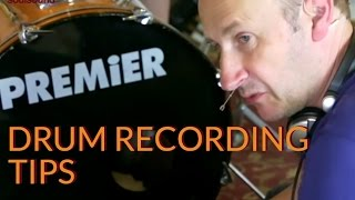 Drum Recording tips from Jon Burton