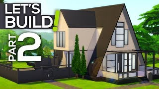 Let's Build a Modern A-Frame House! // Part 2