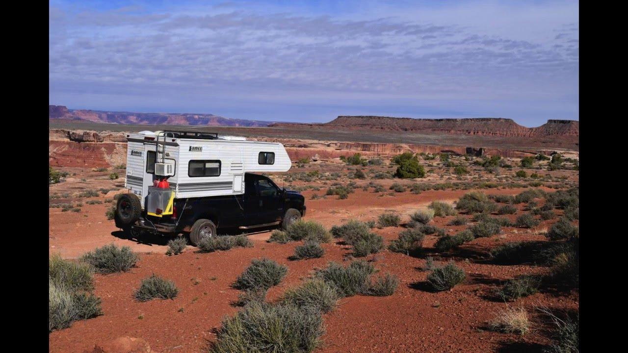 the climb up murphy hogsback  part ii  in a lance 815 truck camper