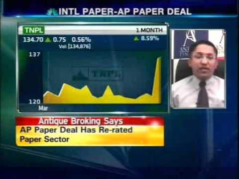 AP Paper deal is rerating paper sector: Antique Br...