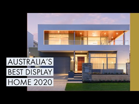 Australia's Best Display Home 2020