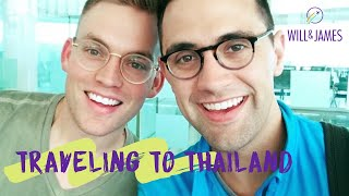 TRAVELING TO THAILAND (Philippine Airlines) | Travel Vlog | Will and James
