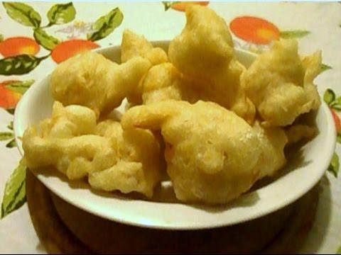 Video Ricetta: Past Crisciut - Cibo di Strada  Napoletano ( Zeppole Salate Napoletane)