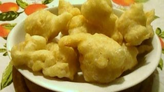 Video Ricetta Cibo di Strada: Past Crisciut ( Zeppole Salate Napoletane) Cucinando per Caso e per...