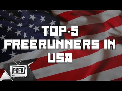 TOP-5 FREERUNNERS IN USA 2016