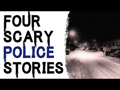 CREEPY STORIES TO KEEP YOU UP AT NIGHT: 4 TRUE SCARY AND STRANGE POLICE STORIES