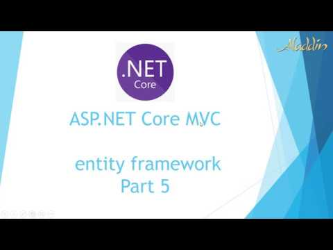 ASP NET Core MVC Entity Framework - Connection String SQL Server Part 5