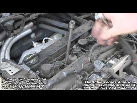 "Spark Plug & Coil Over Plugs Remove & Replace ""How to"" 99-07 Ford Focus"