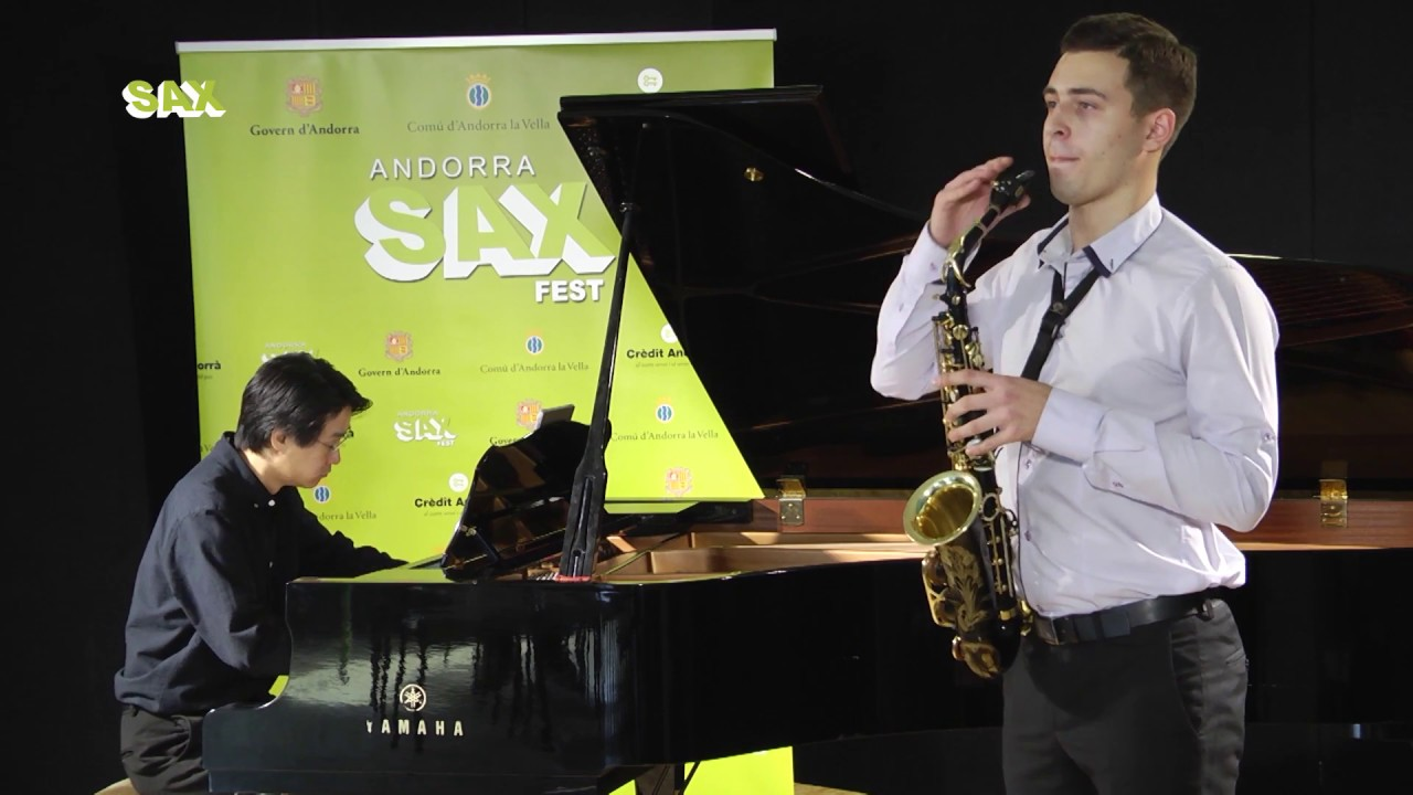 DANYLO DOVBYSH - 1st ROUND - V ANDORRA INTERNATIONAL SAXOPHONE COMPETITION 2018
