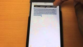 Enable iPhone text to speech - iPhone 6