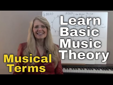 Musical Terms - Music Theory: Video Lesson 12