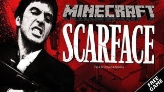 MINECRAFT XBOX 360 SCARFACE MANSION WITH DOWNLOAD