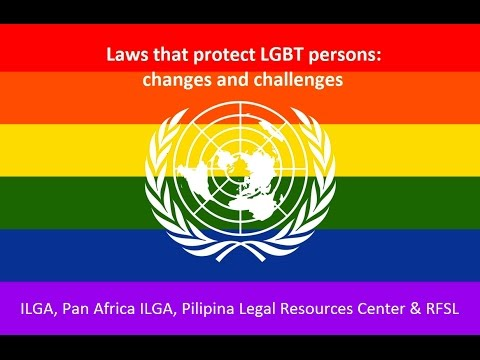 Laws that protect LGBT persons
