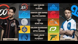 NA LCS Highlights ALL GAMES Week 6 Day 1 / W6D1 Spring 2018