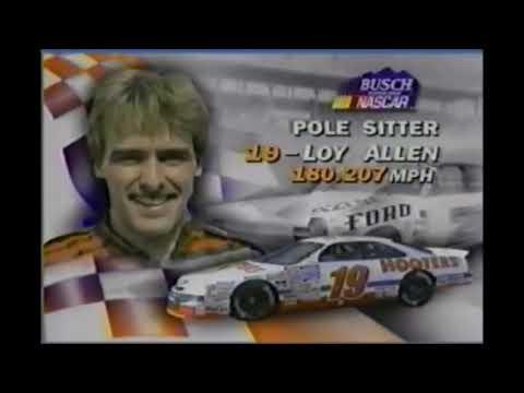 NASCAR Busts: Loy Allen, Jr.