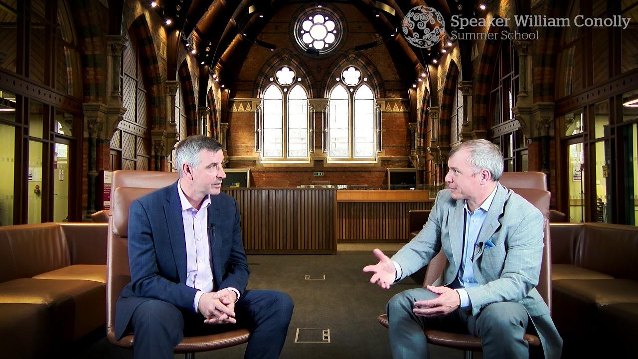 Speaker William Conolly Summer School- In Conversation with Ian Marshall