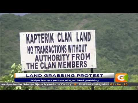 Keiyo leaders protest alleged land grabbing of 11,000 acres
