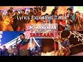 SIMTAANGARAN  song lyrics meaning explained Tamil (Latest)