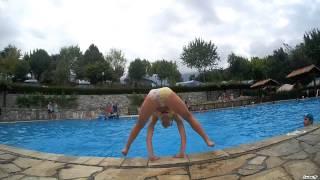 Swimming pool at Camping La Viorna