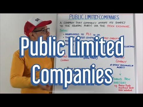 Public Limited Companies - GCSE Business & A Level Business